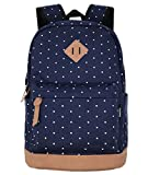 Best Backpacks For Teenage Girls - Unisex Packable Lightweight Canvas College Backpacks Travel Hiking Review