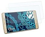 Bruni Schutzfolie kompatibel mit Lenovo Phab 2 Folie, glasklare Bildschirmschutzfolie (2X)