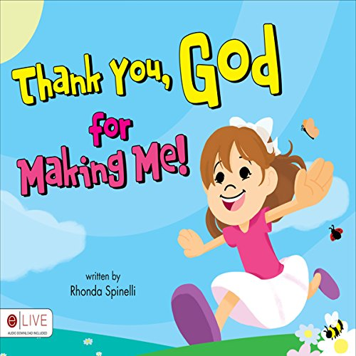 Thank You, God, for Making Me!  audiobook cover art