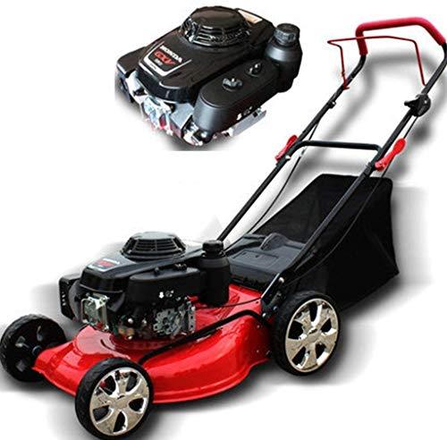 18inch 5.5HP 4 Tiempos Gasolina cortacéspedes cortadora de césped, portátil Plegable/for Grandes Villas, Parques, Campos Deportivos DDLS (Size : 20 Inch Self-propelled)