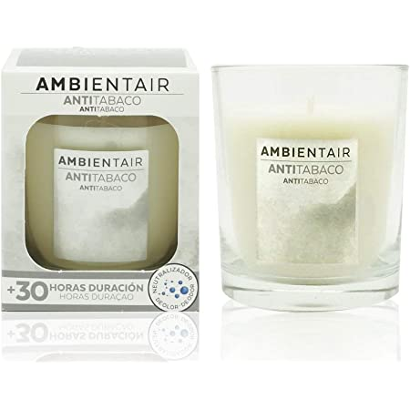 Ambientair - Bougie Parfumée 30 horas - Anti-tabac