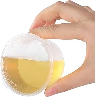 impermeabili a forma di cuore con coperchio Rosenice 50 contenitori trasparenti di stoccaggio da 50 ml per spezie in plastica a prova di perdita