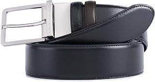 Piquadro Cintura 125 cm, Nero/Marrone