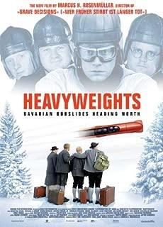 Heavyweights Movie Poster (27 x 40 Inches - 69cm x 102cm) (2007) -(Sebastian Bezzel)(Michael Grimm)(Antoine Monot Jr.)(Simon Schwarz)(Nicholas Ofczarek)(Lisa Potthoff)