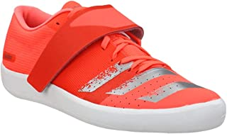 adidas Mens Adizero Shotput Running Sneakers Shoes - Orange