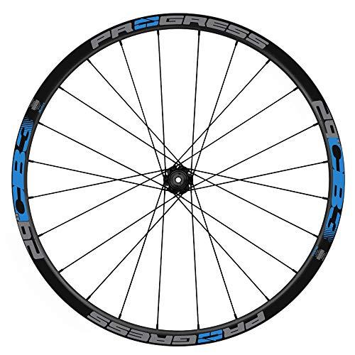 Pegatinas Llantas Bicicleta Progress CB3 29 Bicolor WH55 Azul 517