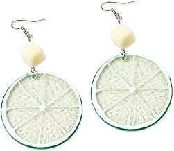Best lime wedge earrings Reviews