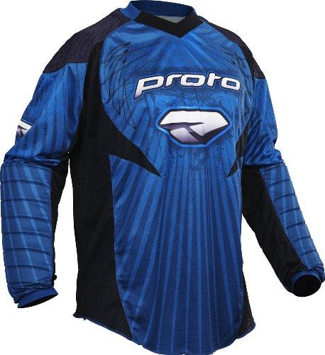 Proto Jersey 10 Burst blau, Gr.XXXL