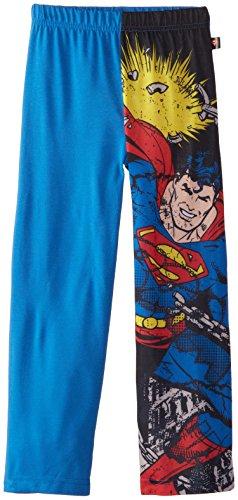 DC Comics Boys 'Superman Justice League Superhero' Sleep Pant Pajama Bottom, Grey,  6/7