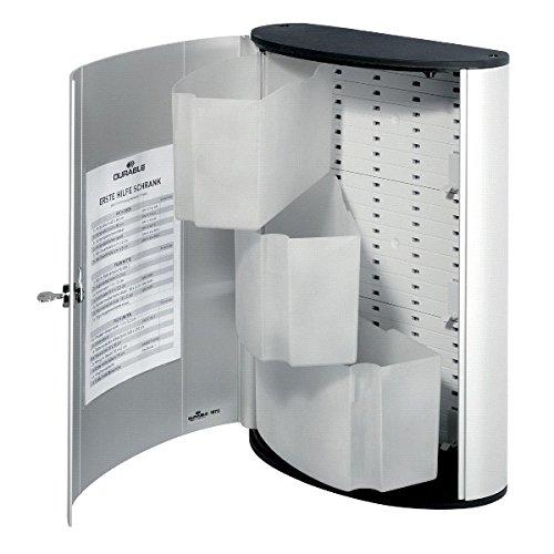 Duurzame eerstehulpdoos. Lege doos. DIN 13157 (gewerblich) zilver