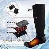 Zoom IMG-1 calze riscaldate elettrica per uomo