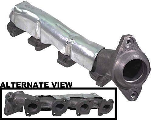 APDTY 785015 Exhaust Manifold Heavy Duty Cast Iron Design Fits Left (Driver Side) 2003-2011 Ford Crown Victoria 2003-2011 Mercury Grand Marquis 2003-2011 Lincoln Town Car (Replaces 4W7Z9431AA)