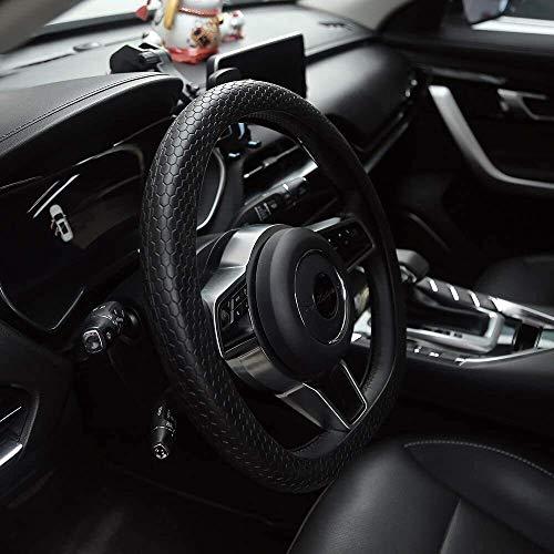 Cubierta del volante del automóvil, Nueva cubierta del volante, Venta al por mayor Diseño de panal de abeja de moda Accesorios coloridos y flexibles para automóviles Cubierta personalizada del volante