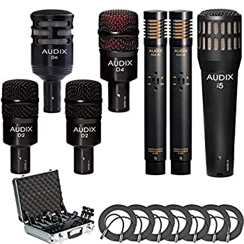 Audix DP7 7-piece Drum Mic Package + 7 XLR Mic Cables