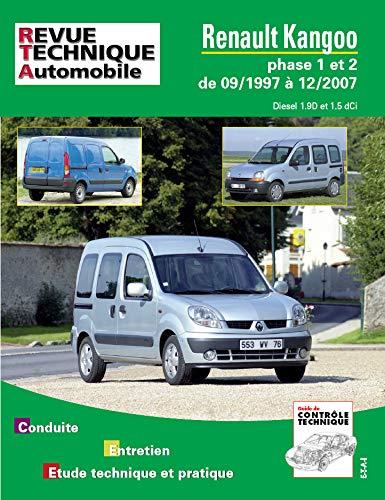 E.T.A.I - Revue Technique Automobile 101 - RENAULT KANGOO I - 1997 à 2007