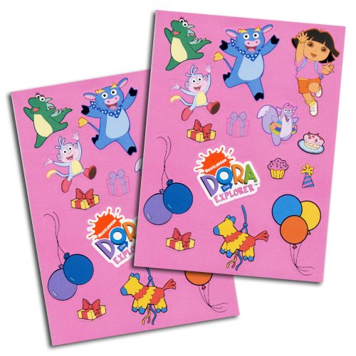 Dora La Explorador sticker, 8 vellen