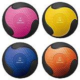 BALÓN Medicinal para para Entrenamiento de Fuerza, Crossfit, Culturismo, Slamball, Wallball, rehabilitación y Fitness (1 kg-190mm Dia.)