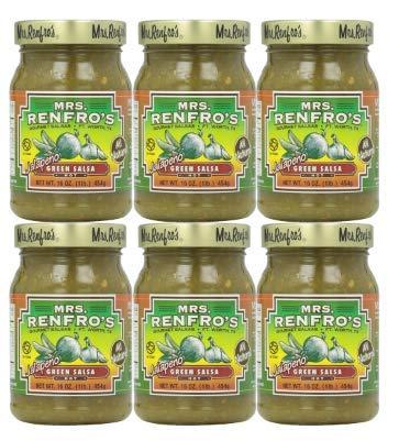 Mrs. Renfro's Hot Green Jalapeno Salsa, 16 oz
