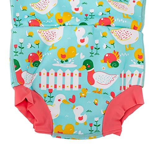 スプラッシュアバウトSplashAboutハッピーナッピーウェットスーツ水着おむつ機能付き5LittleDucks(HNWLDL)保温水着ラッシュガードベビー男の子女の子