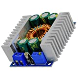 AZDelivery XL4016E1 DC-DC Step Down Buck Converter, Spannungsregler, Spannungswandler Einstellbar 5-40V auf 1,2-36V 12A Step Down Board kompatibel mit Arduino...