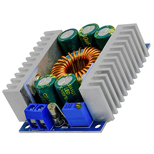 AZDelivery XL4016E1 DC-DC Step Down Buck Converter, Spannungsregler, Spannungswandler Einstellbar 5-40V auf 1,2-36V 12A Step Down Board inklusive E-Book!
