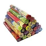 Juego de 10 paquetes de varillas de incienso de la India, mezcla de fragancias, de Tulasi o HEM