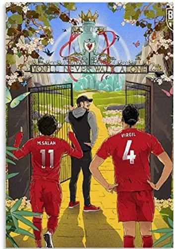 JYSHC Jigsaw Puzzles 1000 Piezas De Madera Imagen De Montaje Cartel del Club De Fútbol De Liverpool Juegos para Adultos Juguetes Educativos Gt464Kp
