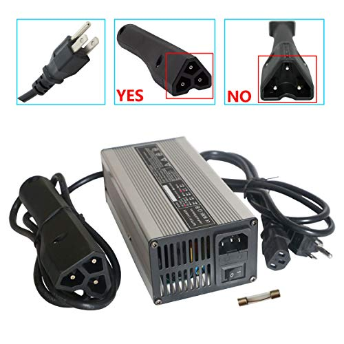 Abakoo New 48V 5A RXV Golf Cart Battery Charger for Ez-Go EZgo TXT with RXV Plug 3 Prong