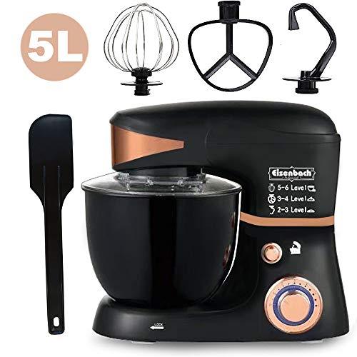 Eisenbach 4,5L robot de cuisine ptrisseur mixeur