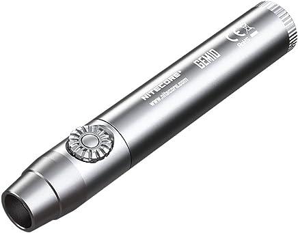 Nitecore GEM10 800 lm Gemstone Identification Flashlight, Black