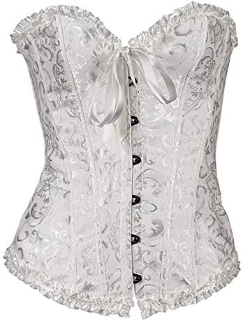 Lacing Bustiers Corset Top for Women Lingerie Plus Size Sexy Push up Corsets Solid Color Tank product image