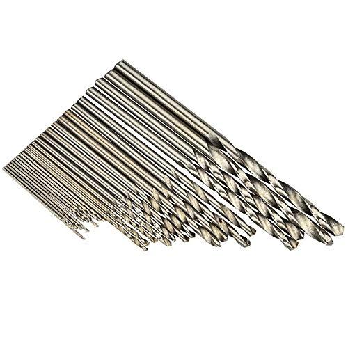 JIAN LIN 25pcs Twist Drill Bit Bit Herramientas de performación de acero de alta velocidad para taladro eléctrico de bit 0.5mm-3mm