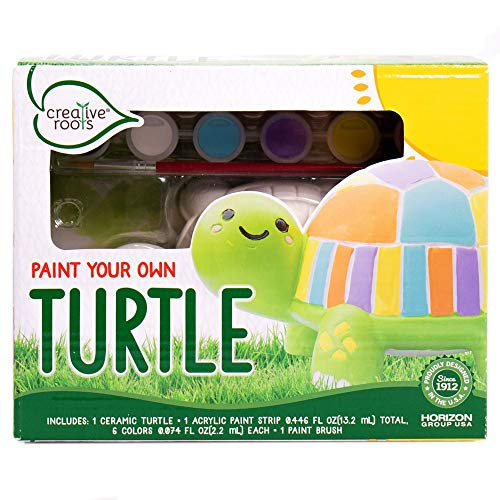 Creative Roots Paint Your Own Turtle by Horizon Group USA, Decorate & Personalize a 5