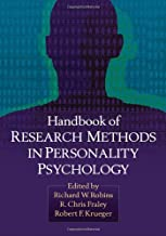 Handbook of Research Methods in Personality Psychology