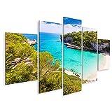 Bild Bilder auf Leinwand Mallorca Cala Llombards Santanyi