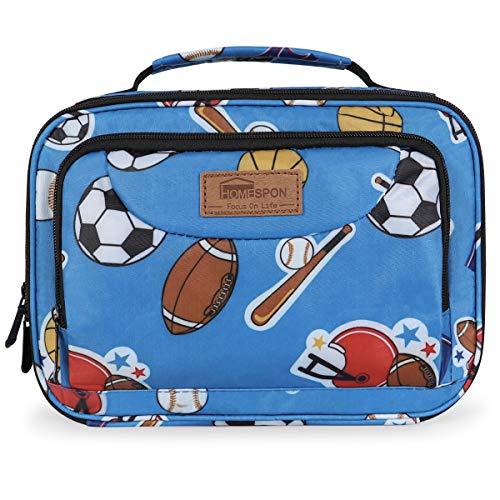 Newox Sac Isotherme Enfant, Petit Boîte à Repas Isotherme Lunch Bags for Lunchbox avec Bandoulière, Sac à...