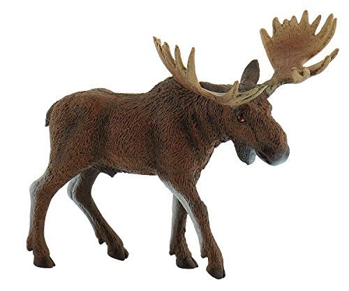 Bullyland 63608 - Spielfigur, Elch, ca. 14,8 cm