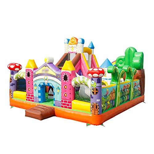 TXOZ-Q Tobogán Inflable Salto de la Gorila mágico paraíso Castillo Gorila al Aire Libre con soplador de Aire Mejor for niños de Edad de 3~14 (700 x 600 x 460 cm)