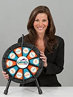 Marketing Holders 10 Slot Blk Micro Table Top Wheel 63035