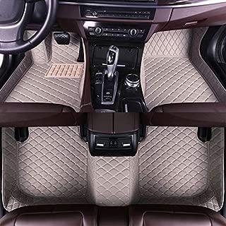 Fussmatten Auto 3D Autoteppich f/ür Be nz CLS Class Sedan 4-Seats 2010-2017 Individuelle Passform Kunstleder wasserdichte 3D Voll Auto Matten Schwarz mit beige Linie 1 Set