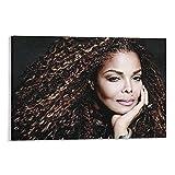 WANGDING Janet Jackson Poster, Motiv: Recording Sänger und