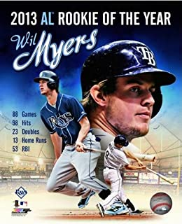 MLB Wil Myers Tampa Bay Rays 2013 Rookie of The Year Photo 8x10