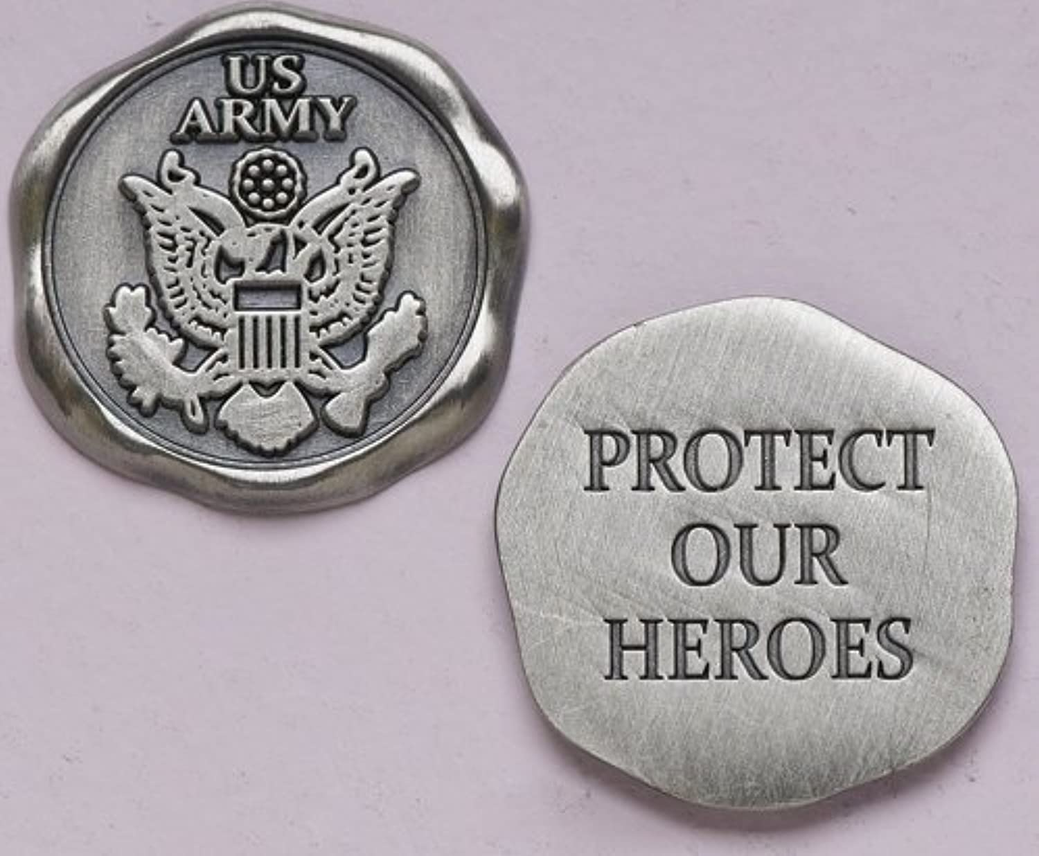 1 Army Pocket Token, Predect Our Heroes by Church Supply Warehouse