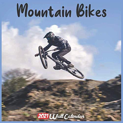 Mountain Bikes 2021 Wall Calendar: Official Mountain Bikes Calendar 2021, 18 Months