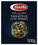 Barilla Hartweizen Pasta Collezione Tagliatelle con Spinaci Bolognesi – 1er Pack (1x500g)