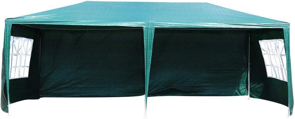 PBOHUZ Animer and price revision Outdoor Patio Gazebo-3X6m Green Wedd Gazebo 70% OFF Outlet