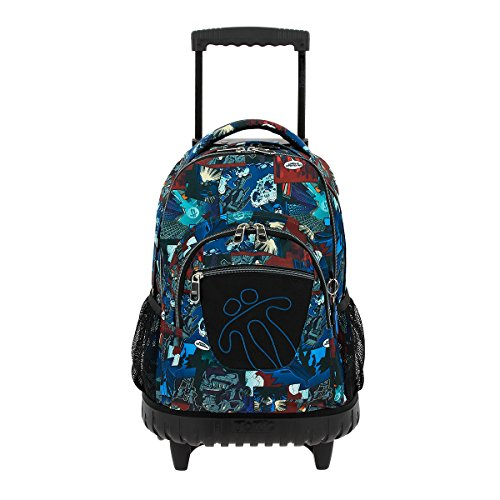 Trolley Totto Renglones tipo casual, 37 litros, Multicolor