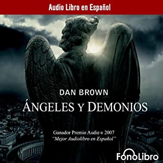 Angeles y Demonios [Angels and Demons] audiobook cover art