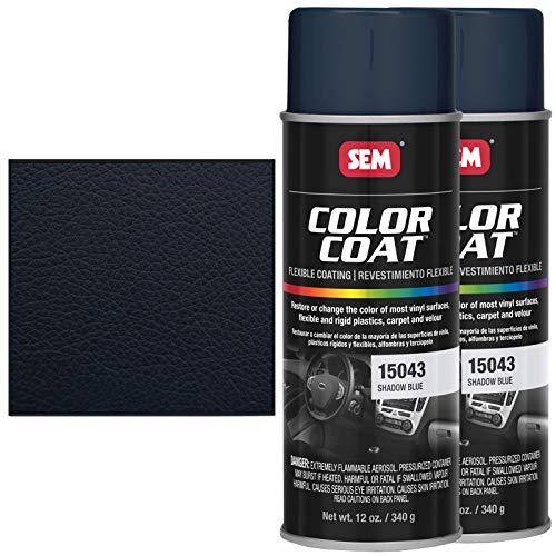 SEM 15043, Shadow Blue, Color Coat Vinyl Paint (2)