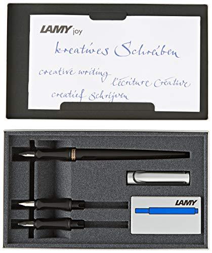 Lamy 1217713 joy AL Füllhalter Set 4 teilig T10, blau